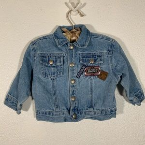 VINTAGE BUSTER BROWN BABY JEAN JACKET